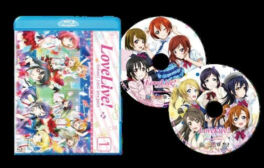 Love Live SE Season 1 Packshot 001 - 20151027