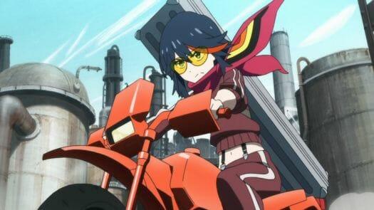 Kill la Kill Ryuko with Senketsu Scarf
