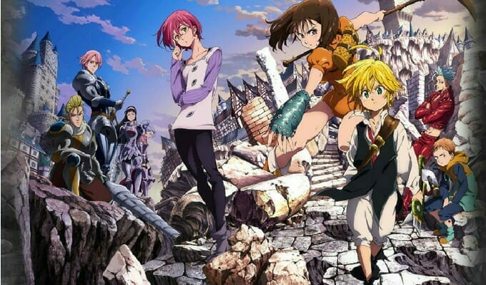 """Seven Deadly Sins Film"" Gets Trailer, Visual, Premiere Date"