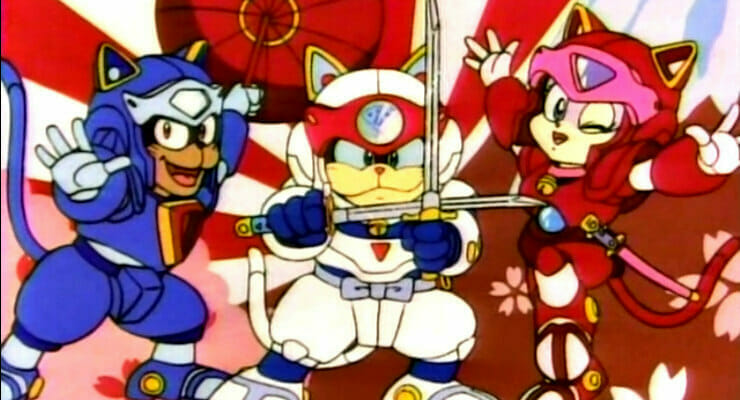 Crunchyroll Adds Samurai Pizza Cats