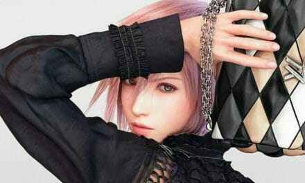 Final Fantasy XIII's Lightning Models For Louis Vuitton