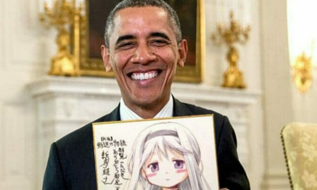 Watch President Obama As He Channels His Inner Umaru