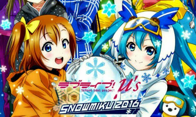 Hatsune Miku & Love Live Join Forces For 2016 Sapporo Snow Festival
