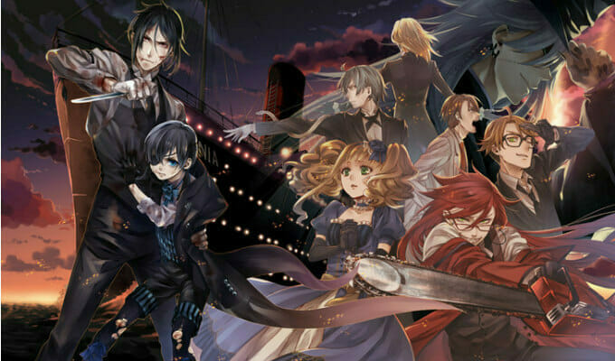 "A Trio of ""Black Butler: Book of the Atlantic"" Mini-Clips Hit The Web"