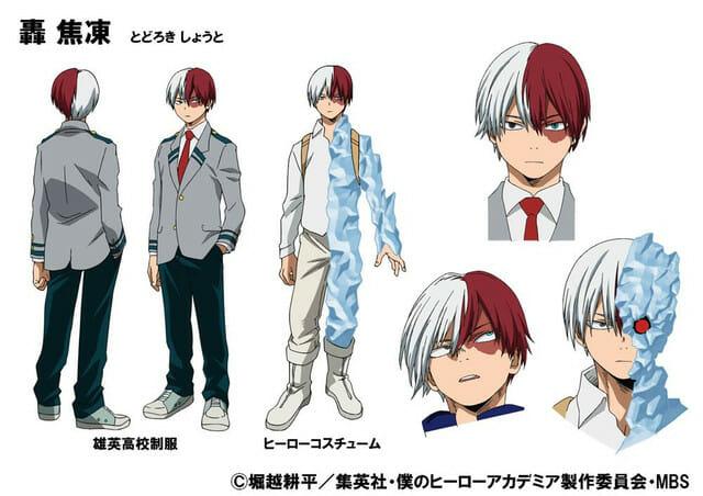 My Hero Academia Character Visual - Shouto Todoroki 001 - 20160214