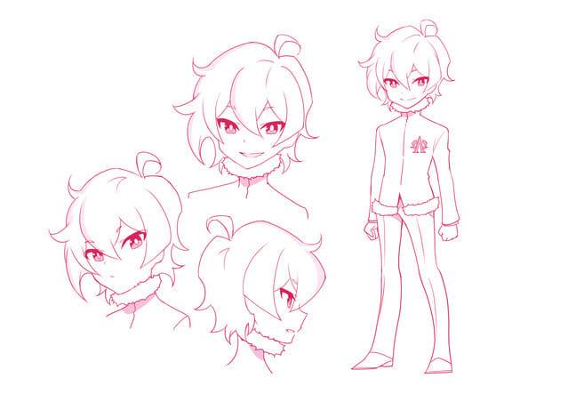 Space Patrol Luluco Character Visual AΩ Nova 001 - 20160207