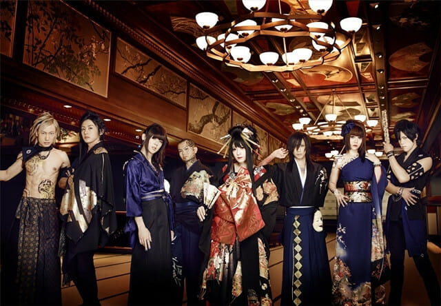 Wagakki Band Budokan Group Photo 001 - 20160228