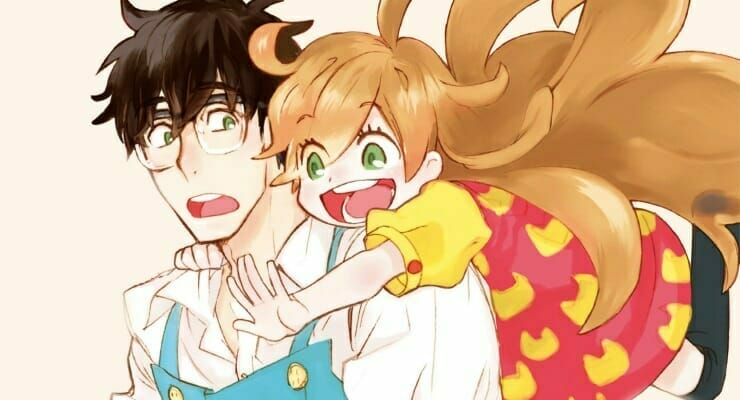 "New PV and Visual Hit For ""Sweetness and Lightning"" Anime"
