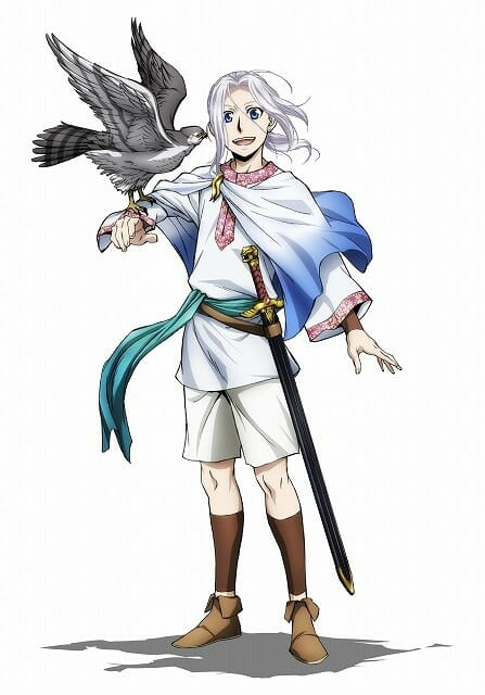 Heroic Legend of Arslan S2 Arslan Visual 001 - 20160415