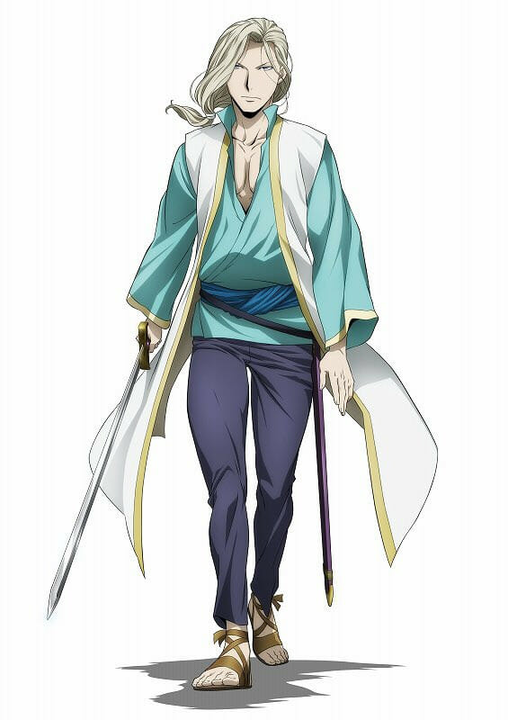 Heroic Legend of Arslan S2 Character Visual - Narsus 001 - 20160422