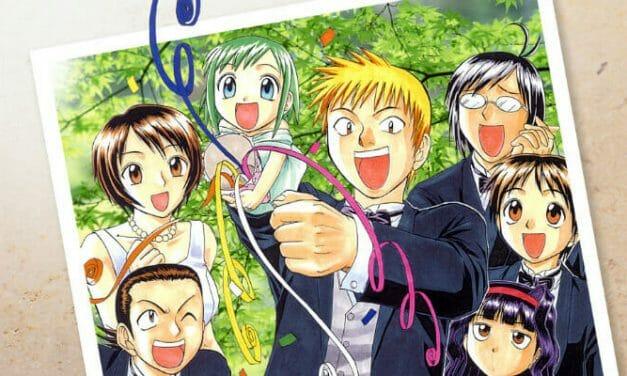 Kazurou Inoue Kicks Off Shitei Bōryoku Shōjo Manga