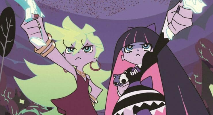 Gainax West Unveils New Panty & Stocking Merch, Exhibition, & Cafe