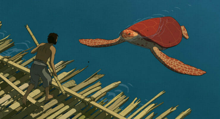 "New Clip For Ghibli's ""The Red Turtle"" Hits The Web"
