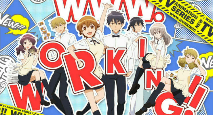 WWW.Working!! Gets Character PVs For Miri Yanagiba and Rui Nagata