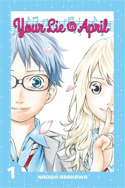 Your Lie In April Cover 001 - 20160404