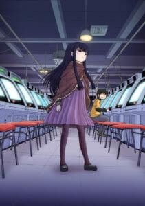 """Hi Score Girl"" Visual © Rensuke Oshikiri / SQUARE ENIX"