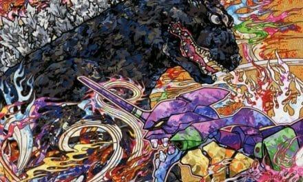 "Artist Takashi Murakami Creates ""Godzilla vs. Evangelion"" Visual"