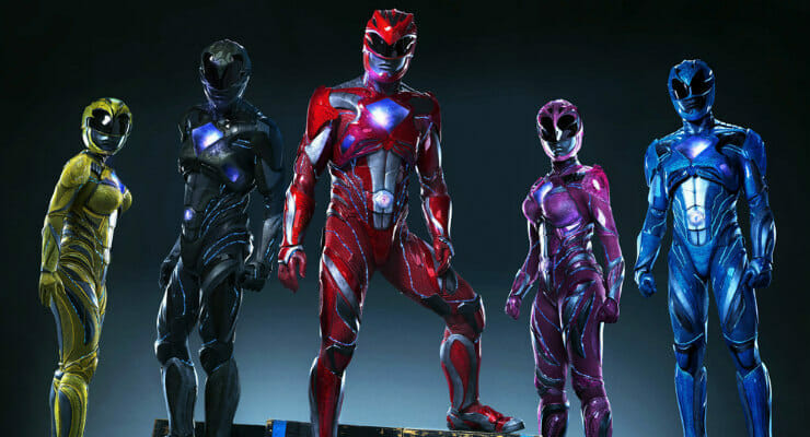 First Power Rangers (2017) Movie Poster Unveiled