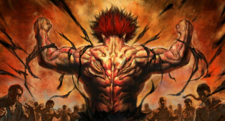 "Netflix's ""Baki"" Anime Gets First Teaser Trailer & New Visual"