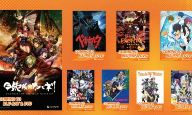 Anime Expo 2016: Crunchyroll To Dub & Release Anime On DVD & Blu-Ray