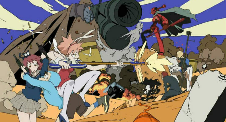 Anime Expo Lists Trailer Reveal For 'FLCL 2 & 3' on July 2
