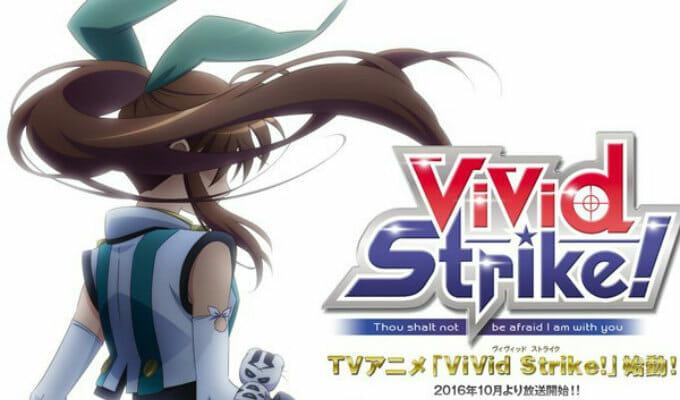"""Nanoha Creator's """"Vivid Strike"""" Manga Gets Anime Series"""
