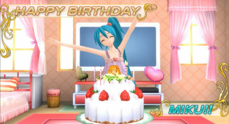 Hatsune Miku V4X Hits On Digital Diva's 9th Birthday