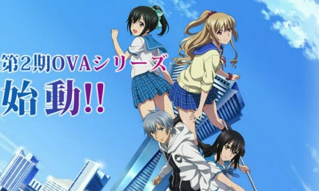Strike the Blood III OVA Gets 4 Cast Members, 12/19/2018 Premiere