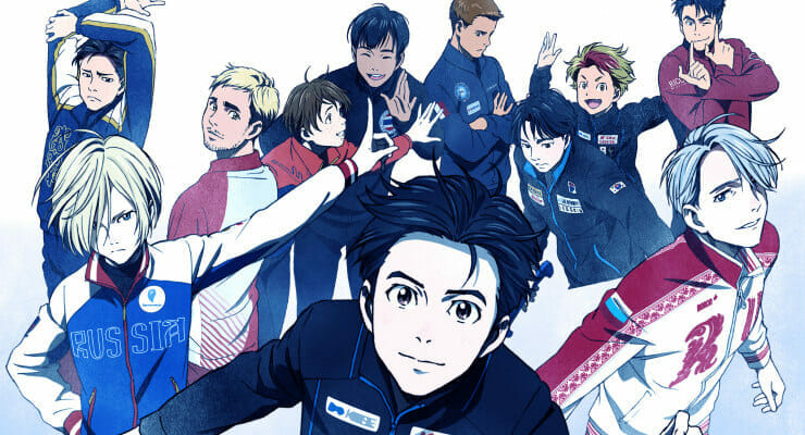 """""""Yuri!!! on Ice"""" Anime Gets New PV & Cast Reveals"""