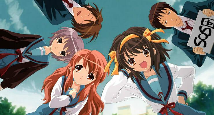 "Crunchyroll Adds ""The Melancholy of Haruhi Suzumiya"" To Digital Lineup"