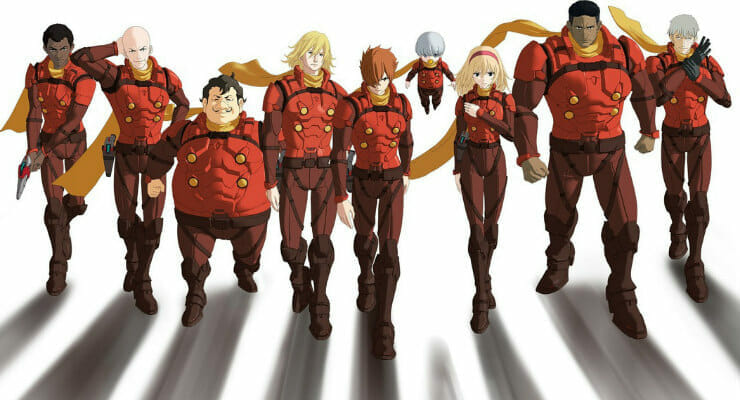 """Netflix Snags """"Cyborg 009 Call of Justice"""" Film"""
