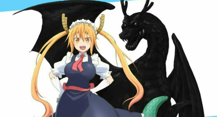 "Kyoto Animation To Produce ""Miss Kobayashi's Dragon Maid"" Anime"
