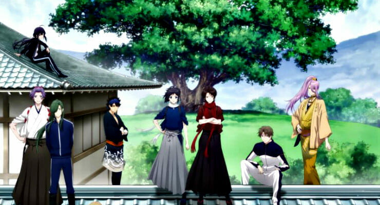 """Touken Ranbu -Hanamaru-"" Movie Trailer Features Main Theme Song"
