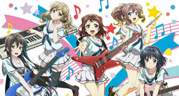 BanG Dream! Anime Gets Second Season in 2019