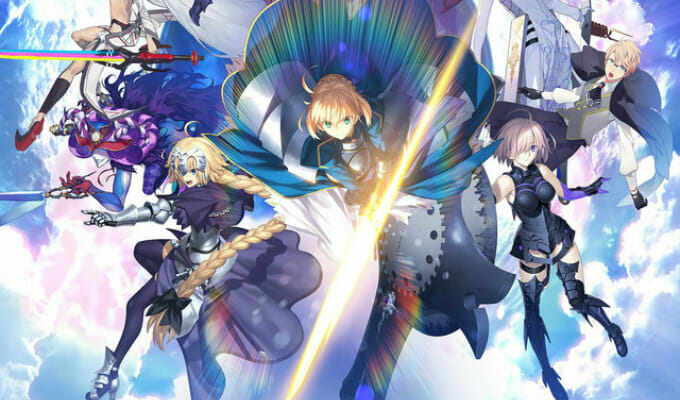 Fate/Grand Order Gets Two-Part Anime Movie Project