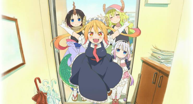 """""""Miss Kobayashi's Dragon Maid"""" Gets 3 New Cast Members & Character Visuals"""