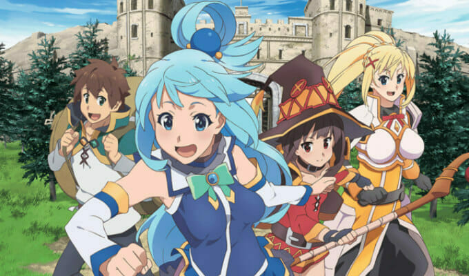 Crunchyroll To Stream Dubs For Konosuba, 6 More; First KonoSuba Dub Cast Revealed