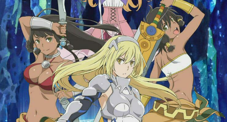 New DanMachi: Sword Oratoria Visual Features Female Leads