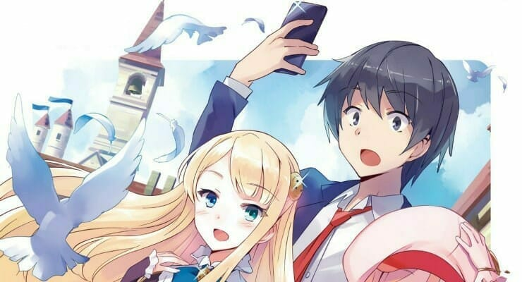 "J-Novel Club Licenses ""In Another World With My Smartphone"" Light Novels"