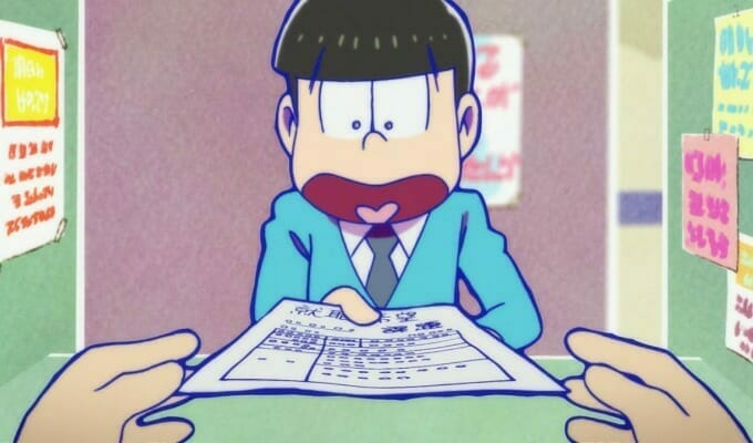 Mr. Osomatsu Anime Gets Anime Web Shorts In January 2018