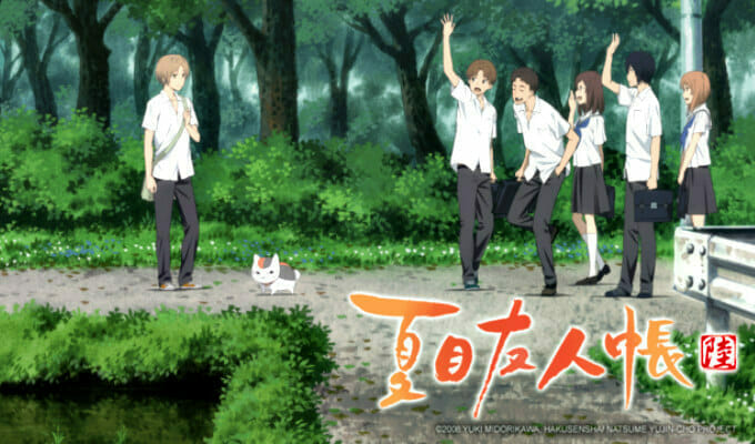 Crunchyroll Adds Natsume Yujin-cho 6 To Spring 2017 Simulcasts