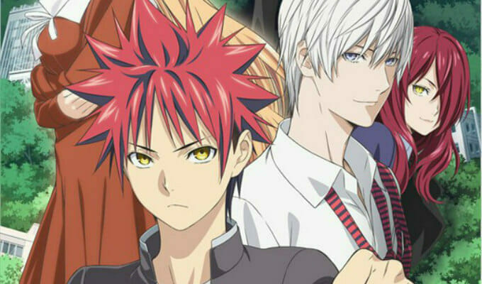 Food Wars! Season 3 Gets Theme Songs by Zaq & nano.RIPE