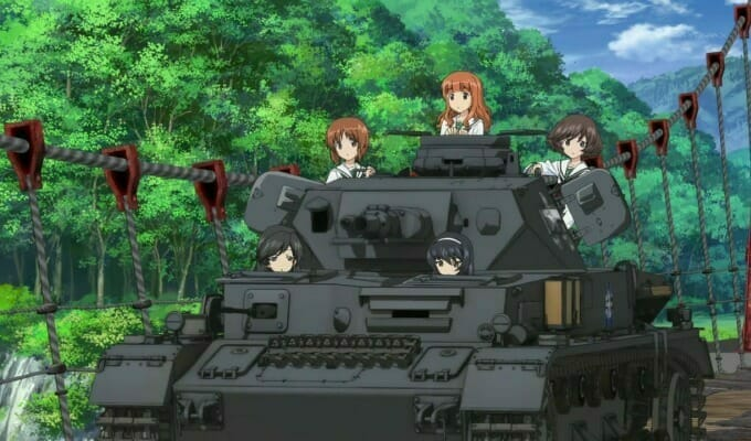 Girls und Panzer das Finale Gets 2 Promo Videos & 4 Cast Members
