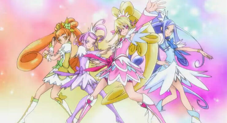 "Netflix Launches ""Glitter Force Doki Doki"" Anime"