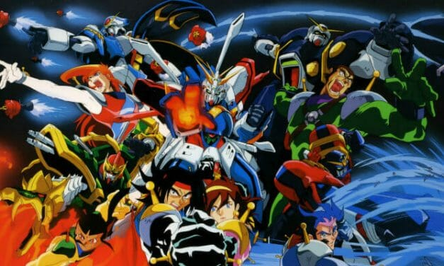Right Stuf Details G-Gundam Ultimate Edition Blu-Ray Set