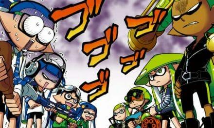 "Splatoon ""Animated Manga"" Officially Launches"