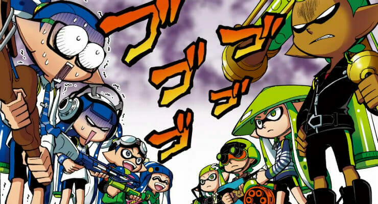 "Splatoon ""Animated Manga"" Officially Launches"