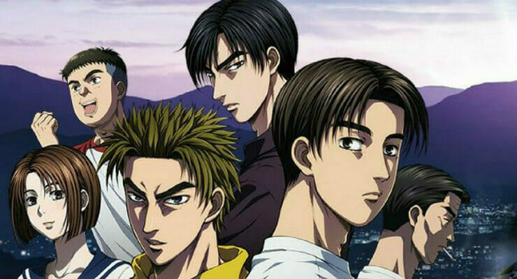 Initial D: Legend 1: Awakening To Screen at LA Anime Film Festival 2017