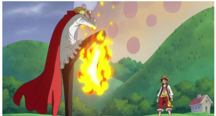 """New """"One Piece"""" Anime Special Trailers Tease Battle Between Luffy & Sanji"""