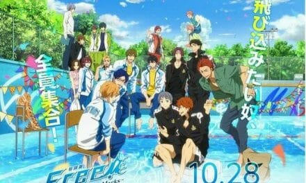 Free! Take Your Marks Movie Trailer Gets Audience Ready for Four Stories
